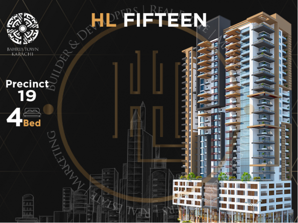 Hl fifteen homeland enterprisess | bahria projects | bahria construction | apartment for sale in bahria